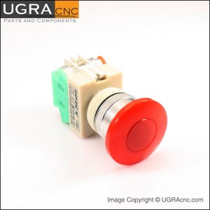 UGRAcnc.com Safety Push Button Red2